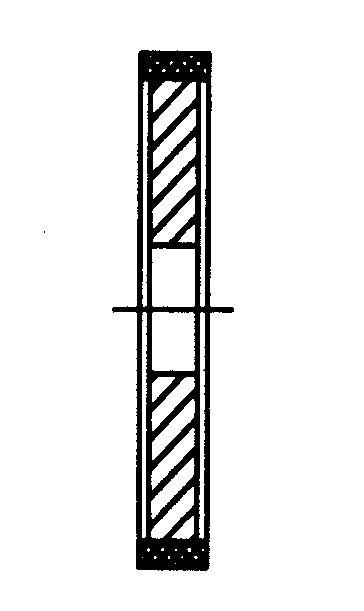 Schleifscheibe Form 2, Diamant, grob