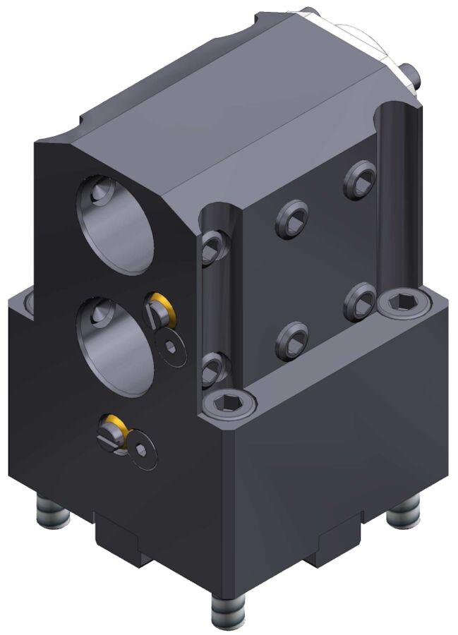 Bohrstangenhalter BMT45, 2xD=25mm