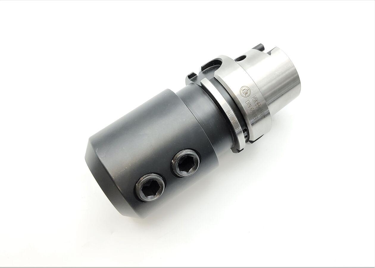 Weldonaufnahme HSK63, D=25 mm