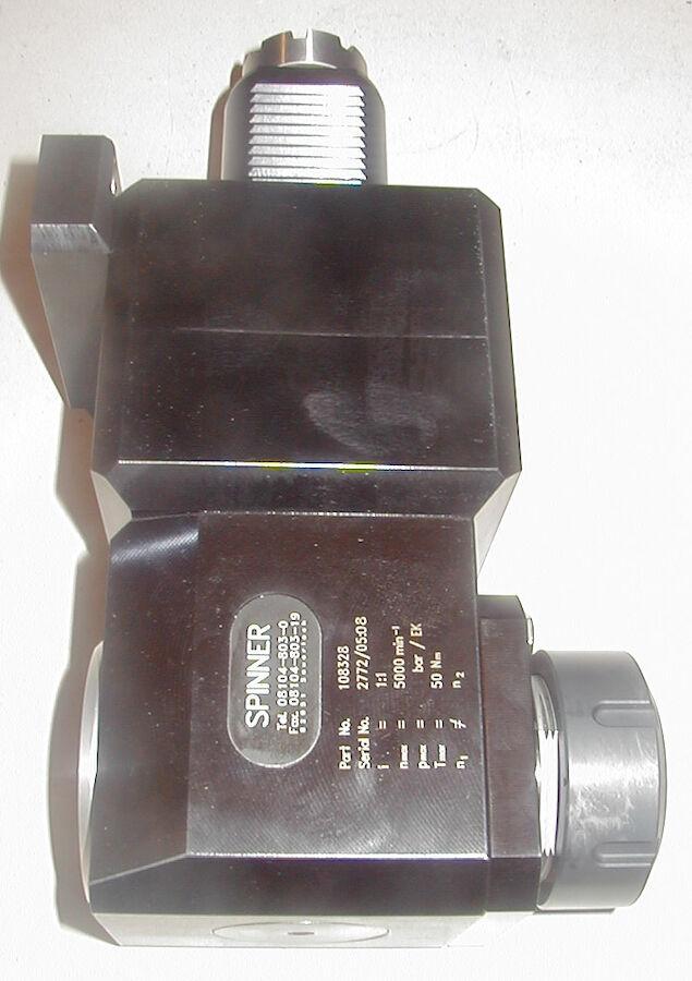 Winkelfräskopf, VDI50 ,rechts