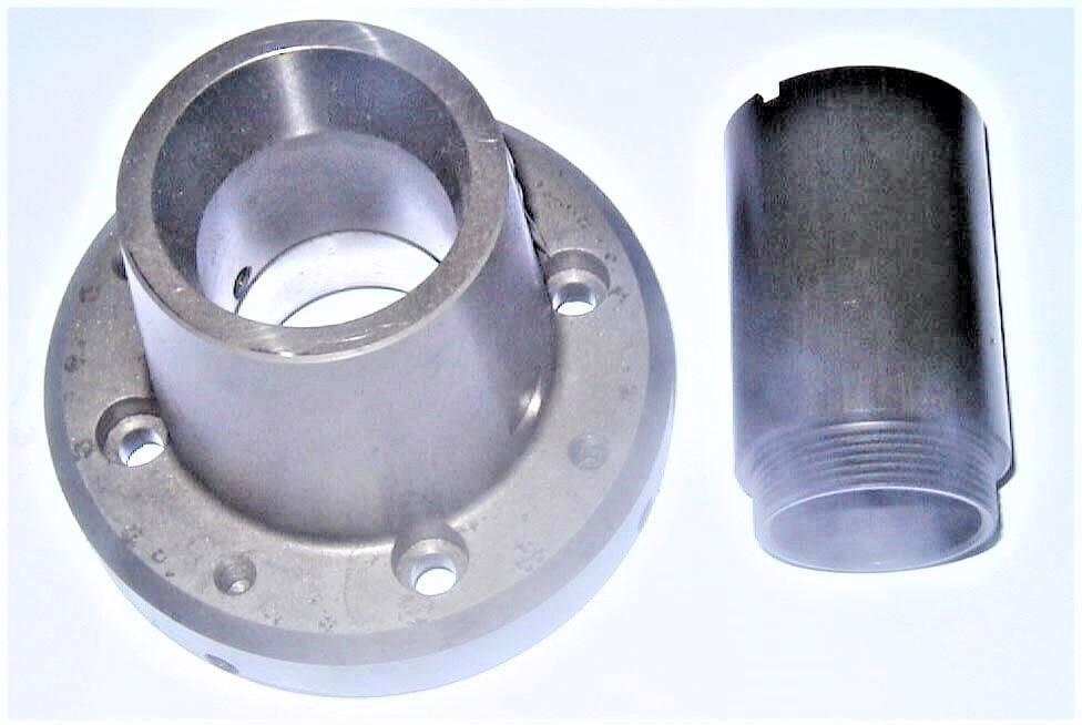 Zug-Spannzangeneinrichtung 16C/42mm