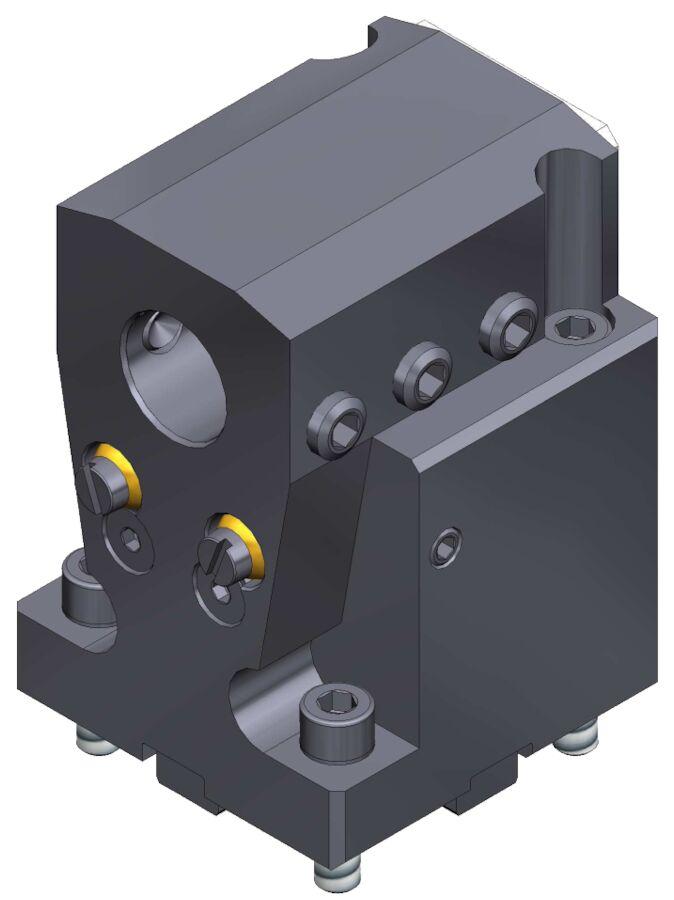 Bohrstangenhalter BMT45, D=25mm, H85