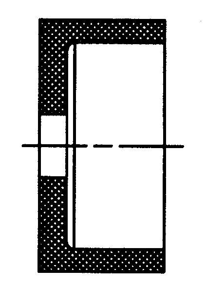 Schleifscheibe Form T, Edelkorund
