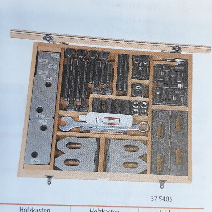 Spannwerkzeug-Sortimentskasten