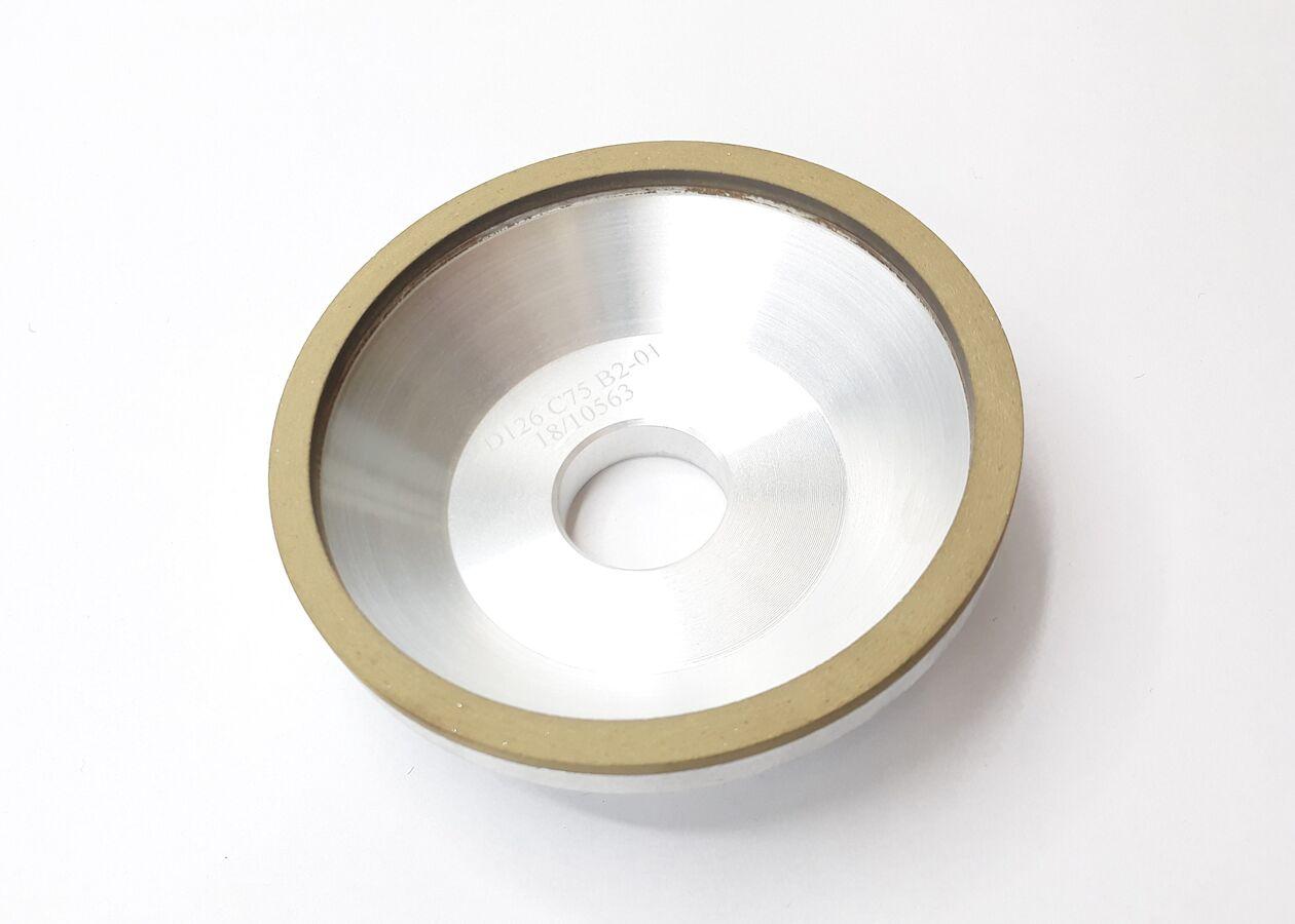 Schleifscheibe Form 1, Diamant, grob